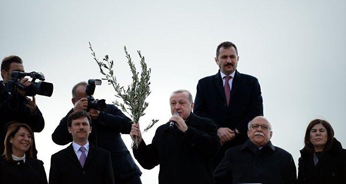 Cumhurbaşkanı ve AK Parti Genel Başkanı Recep Tayyip Erdoğan Eskişehir'de