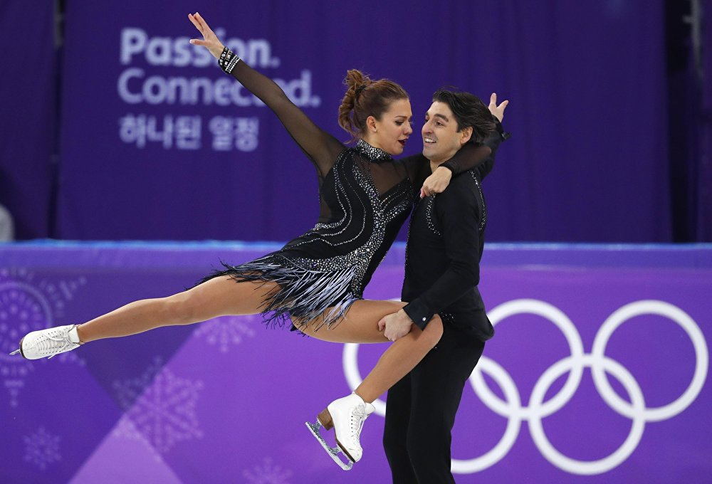 Alisa Agafonova ile Alper Uçar
