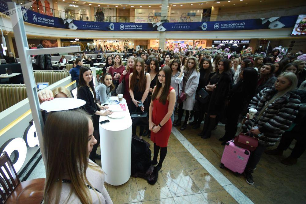 2018 Rusya Güzeli yarışması için seçmeler