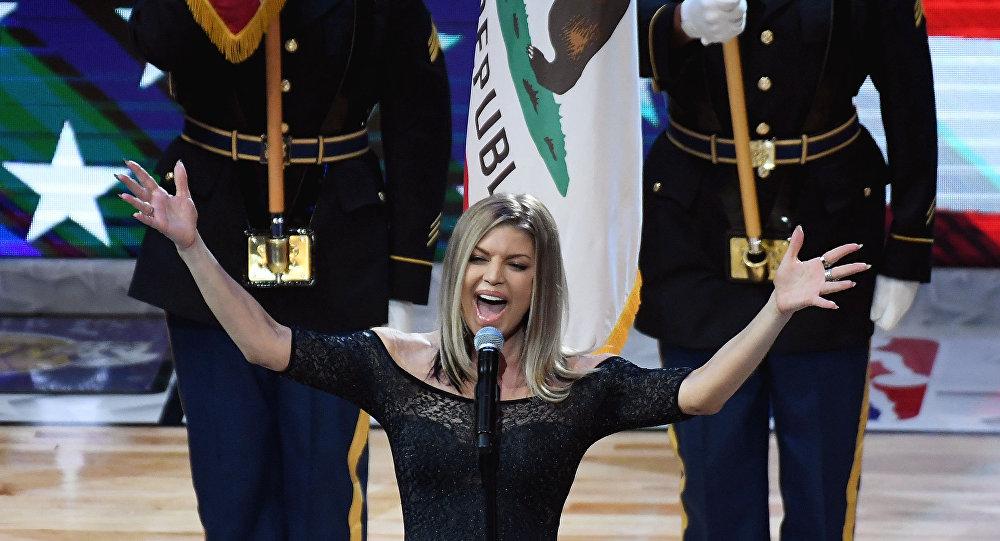 Fergie milli marş 2018 NBA All Star