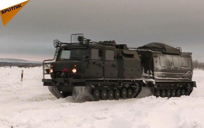 Rusya'da yeni çok amaçlı arazi araçları test edildi
