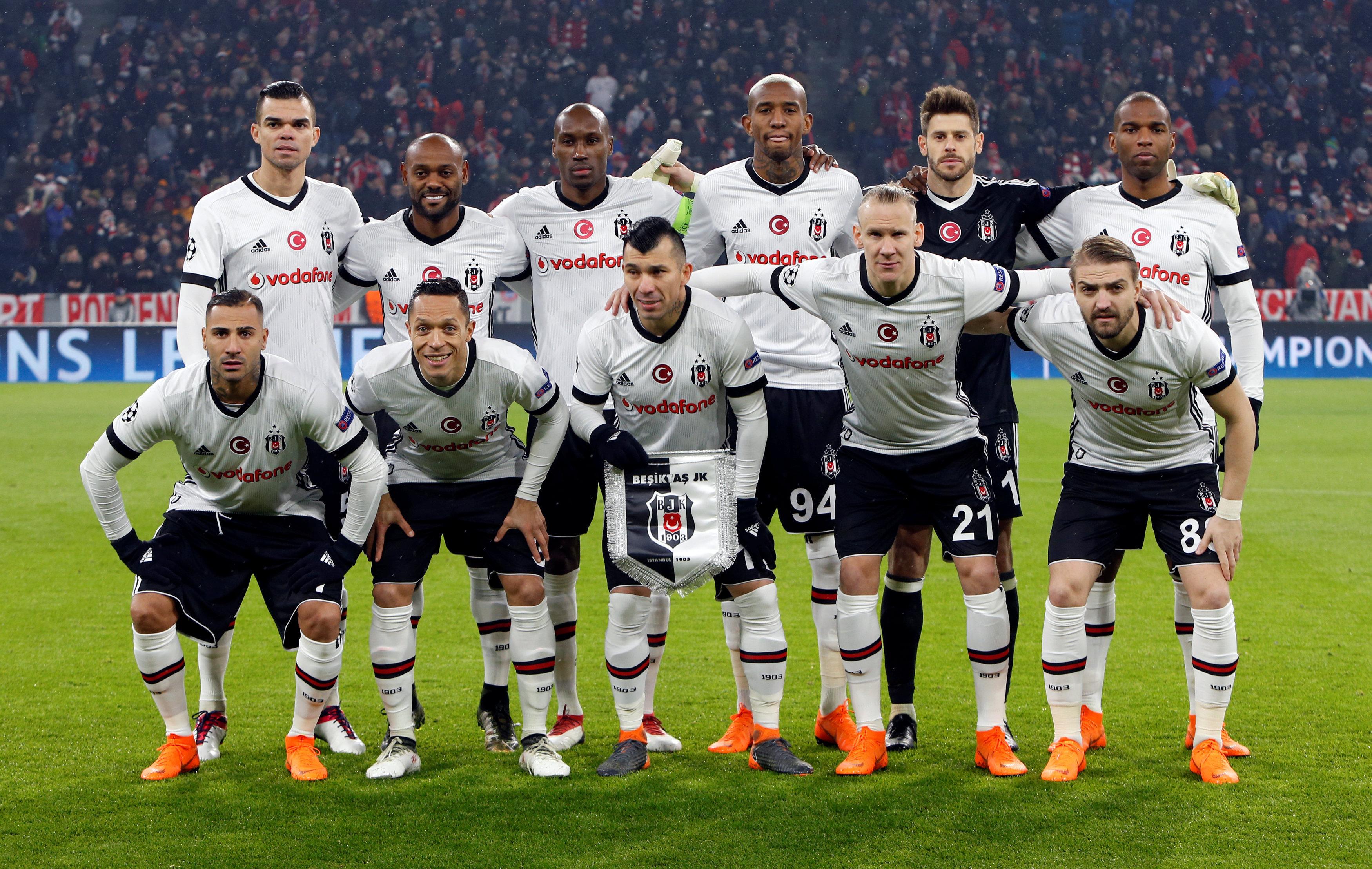 Beşiktaş'ın Bayern Münih kadrosu