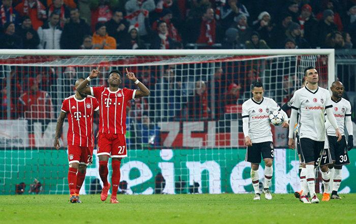 Beşiktaş, 10 kişi kaldığı Bayern Münih karşısında 5-0 mağlup oldu