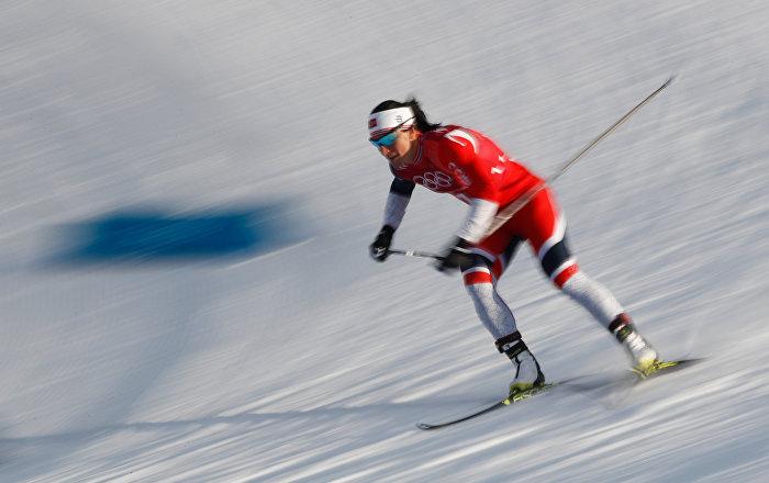 Norveçli kadın atlet Bjoergen, Kış Olimpiyatları tarihine geçti