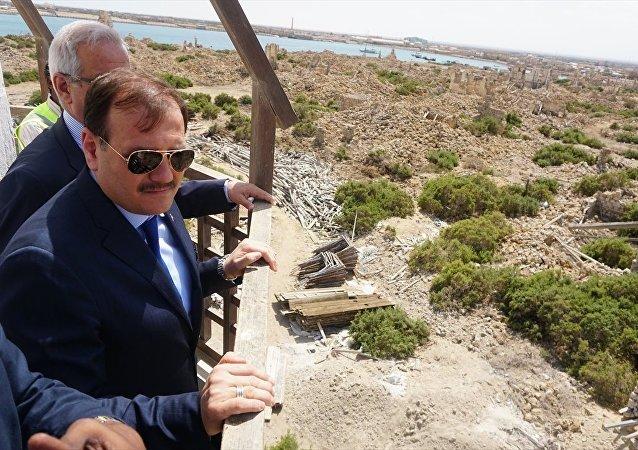 Başbakan Yardımcısı Hakan Çavuşoğlu Sevakin Adası'nda