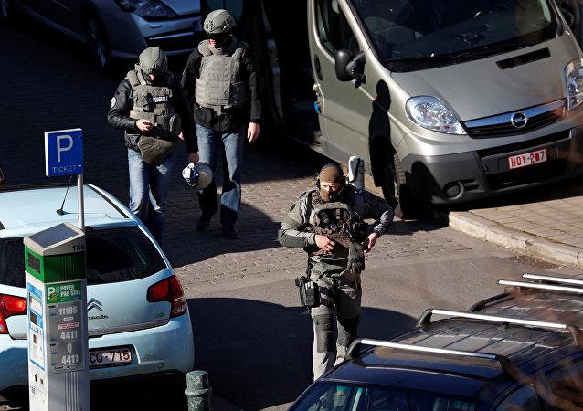 Brüksel-Silahlı saldırgan