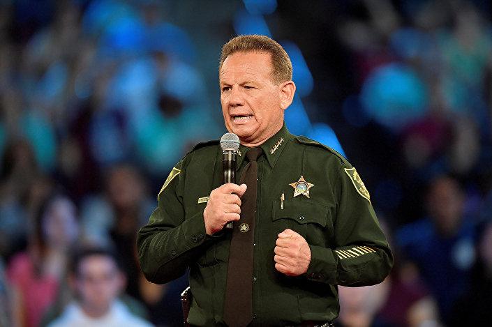 Broward Bölgesi'nin Şerifi Scott Israel