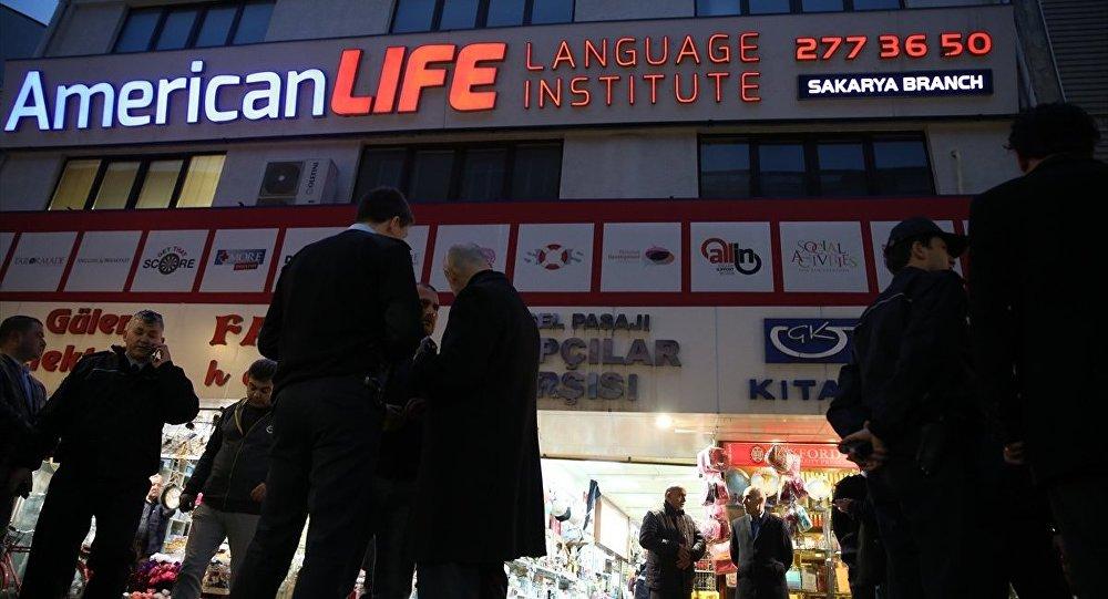 Sakarya'da yabancı dil kursu çalışanları rehin alındı