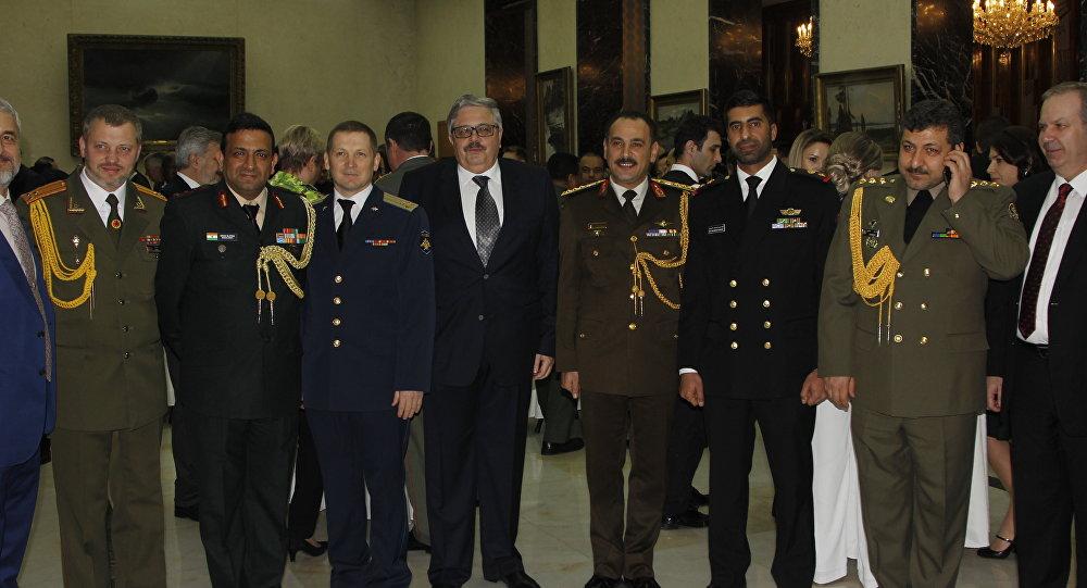 Rusya Vatan Savunucuları Günü Ankara'da kutlandı