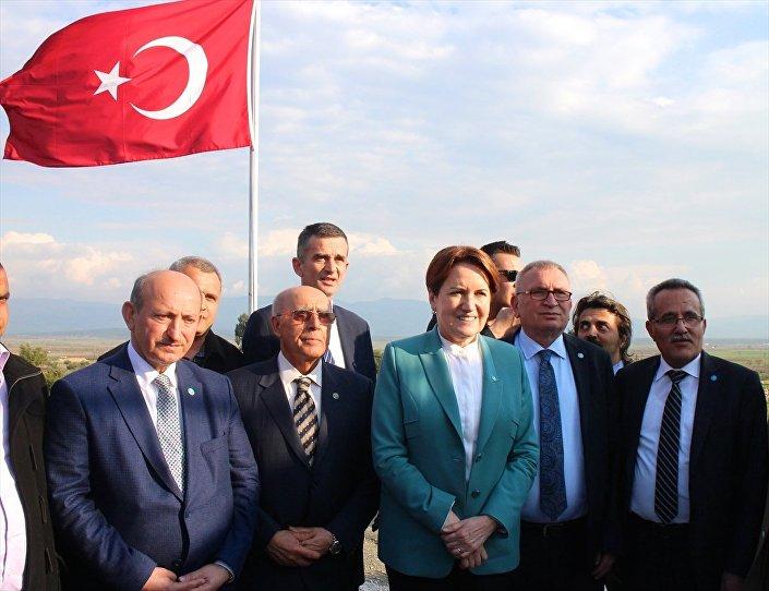İYİ Parti Genel Başkanı Meral Akşener Hatay'da