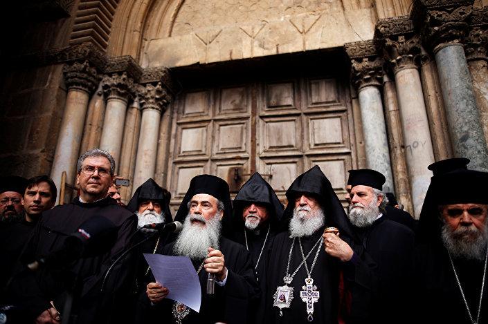 Kudüs Rum Ortodoks Patriği III. Theophilos