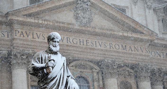 İtalya kar ve soğuk havanın etkisi altında