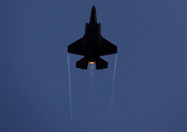 İsrail Hava Kuvvetleri F-35 savaş uçağı Hatzerim Hava Üssü