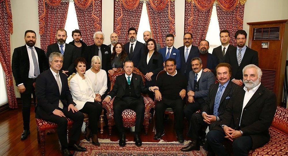 Erdoğan'a doğum günü ziyareti