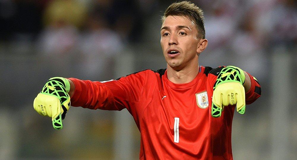 Uruguay Galatasaray kaleci Fernando Muslera 2017 Dünya Kupası elemeleri