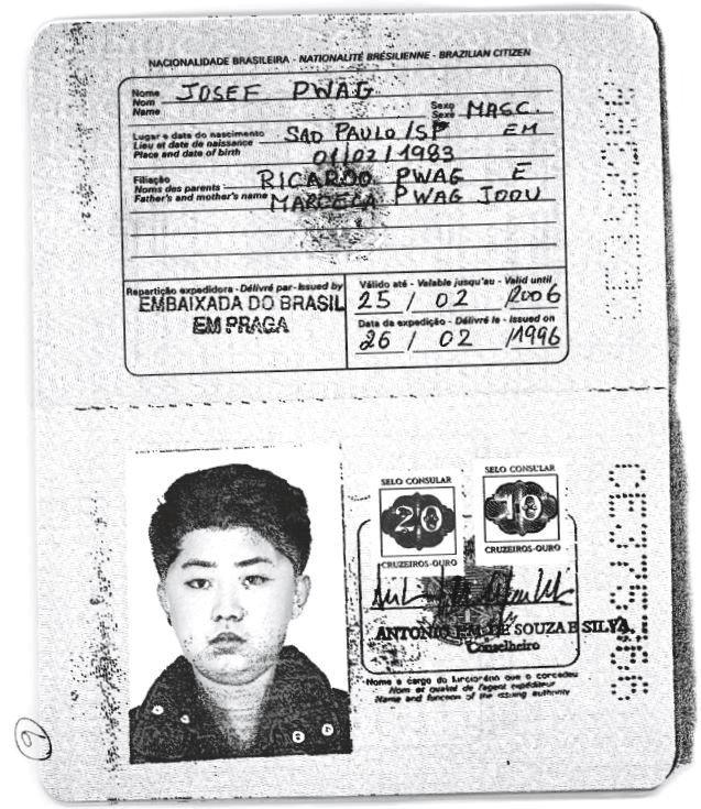 Kim Jong-un için yapılmış sahte Brezilya pasaportu