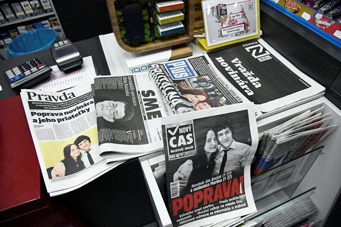Slovak basını öldürülen gazeteci Kuciak'ın araştırmasından bölümleri yayımladı