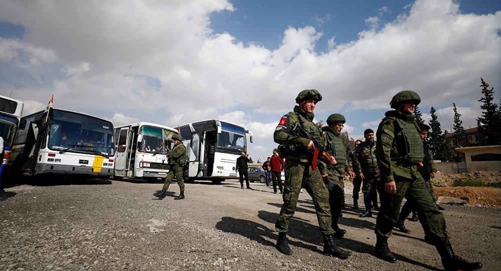 Doğu Guta- Rus askerleri