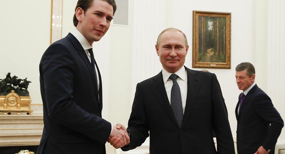 Kurz Putin Kremlin