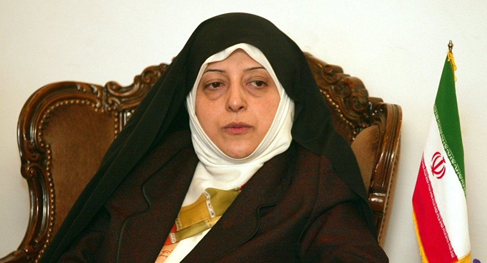 İran Cumhurbaşkanı Hasan Ruhani'nin Kadın ve Aile İşlerinden Sorumlu Yardımcısı Masume İbtikar