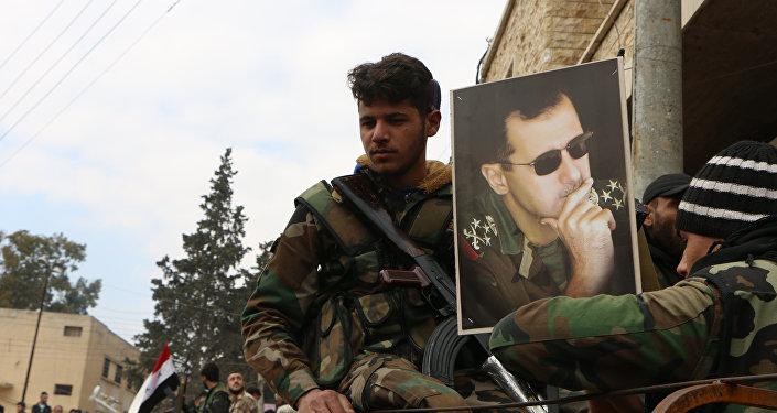 Beşar Esad- Afrin'deki Suriye hükümet güçleri
