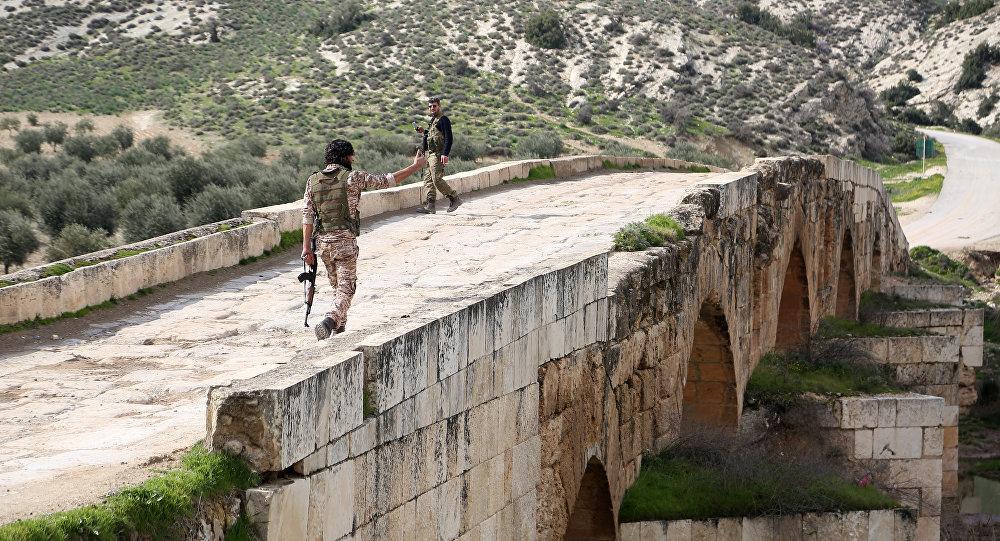 Afrin- ÖSO- Zeytin Dalı Harekatı