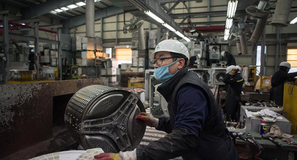 Güney Kore-İşçi