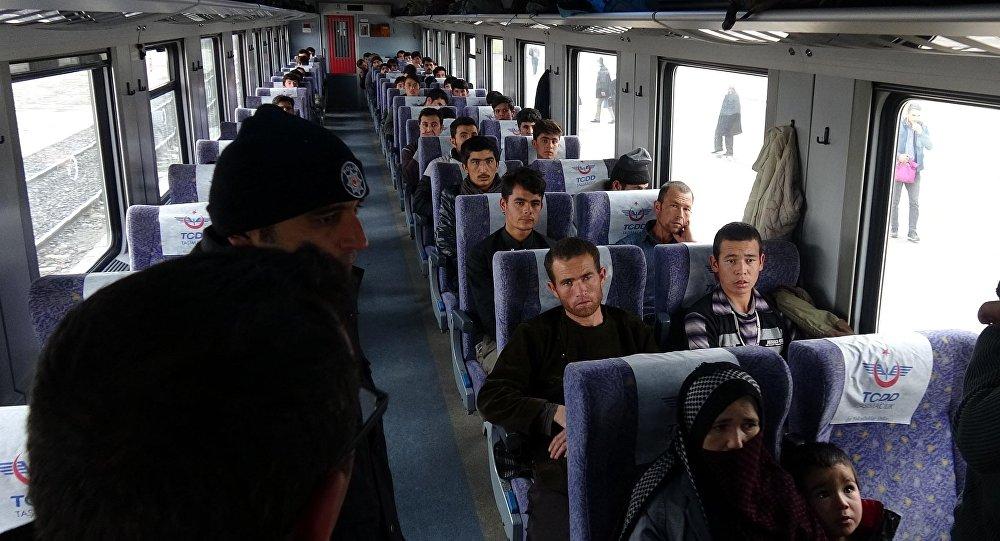 Doğu Ekspresi'nde 48 göçmene gözaltı