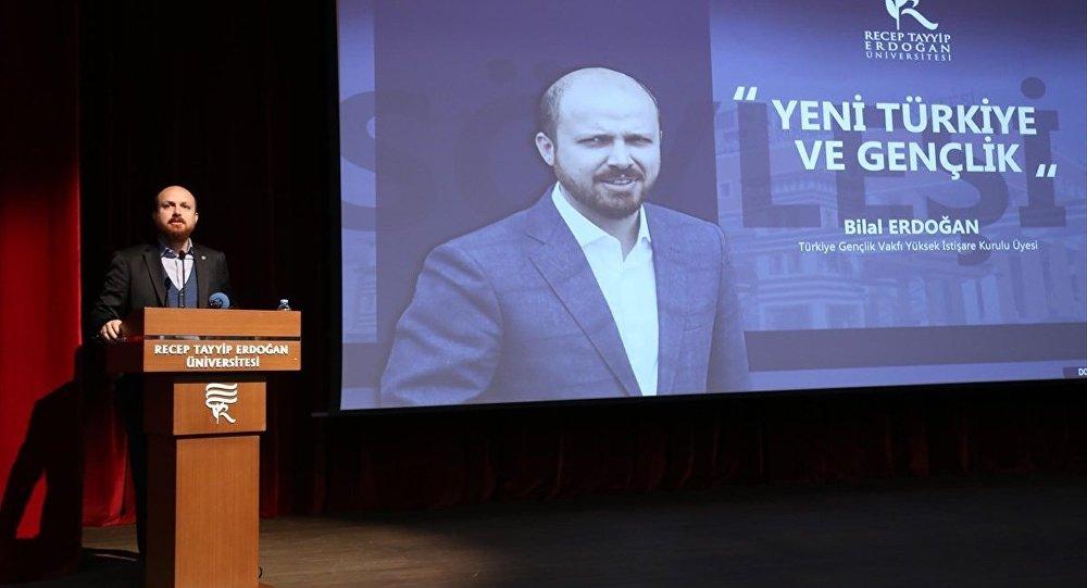 Türkiye Gençlik Vakfı (TÜGVA)  Yüksek İstişare Kurulu üyesi Bilal Erdoğan