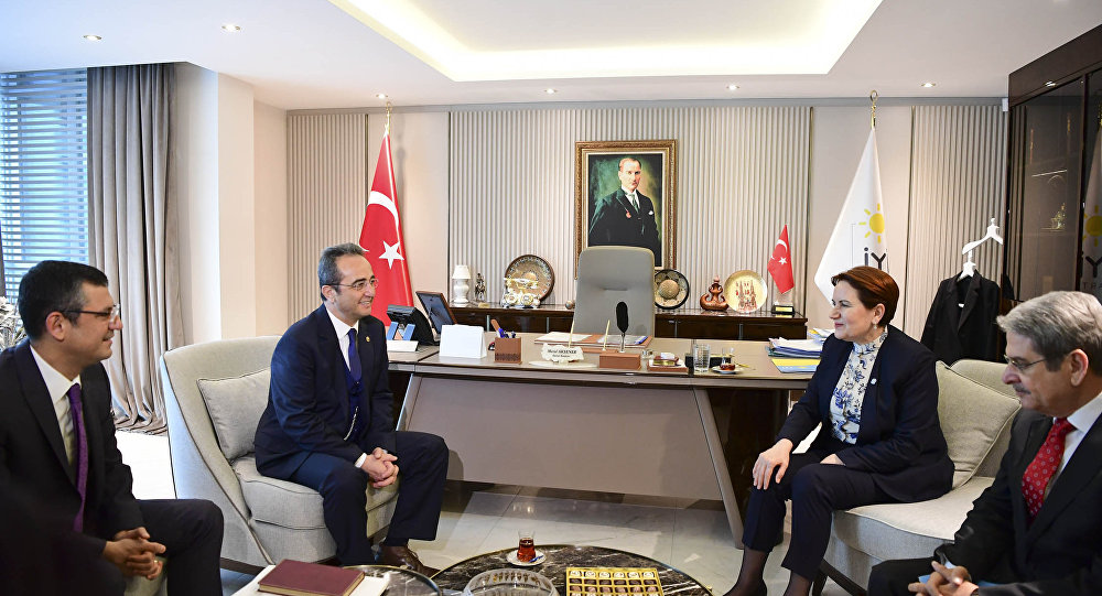 CHP, İYİ Parti ile buluştu