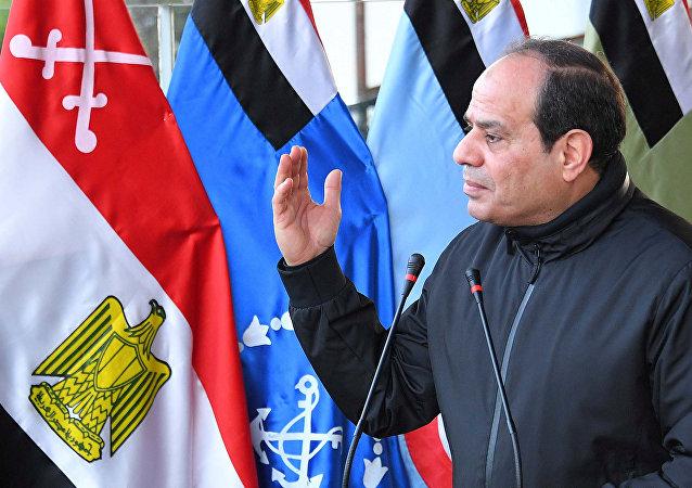 Mısır Cumhurbaşkanı Abdülfettah Sisi Kahire askeri akademi