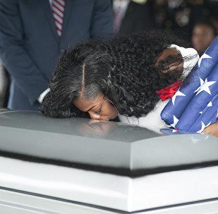 Nijer'deki pusuda öldürülen ABD askeri La David Johnson'ın eşi Myeshia Johnson