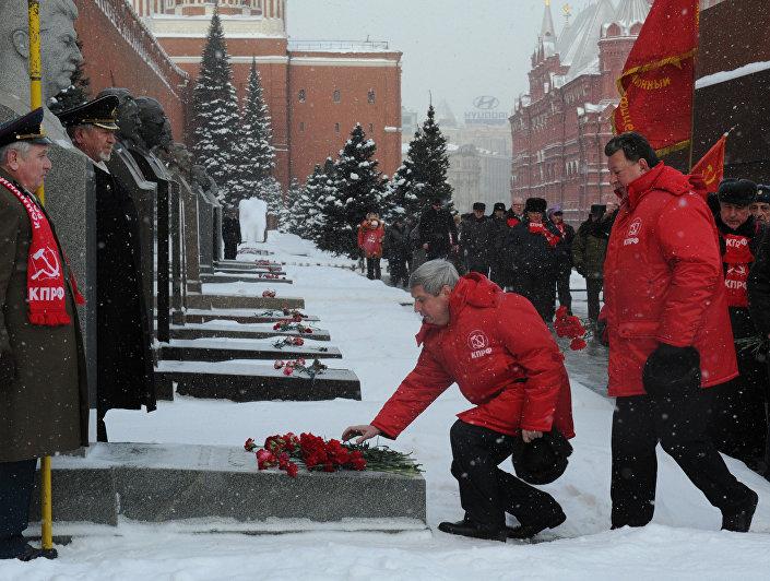 Eski Sovyetler Birliği lideri Joseph Stalin ölümünün 65. yıllönümünde anıldı