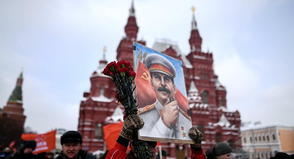 Eski Sovyetler Birliği lideri Joseph Stalin 65. ölüm yıl dönümünde Rusya'da anıldı.