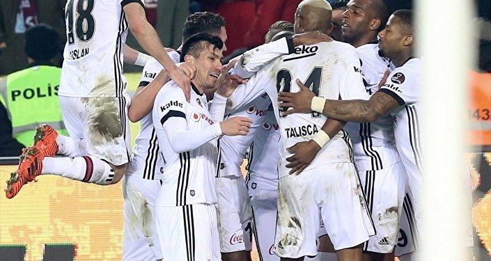 Beşiktaş, Trabzonspor'u deplasmanda mağlup etti: 2-0