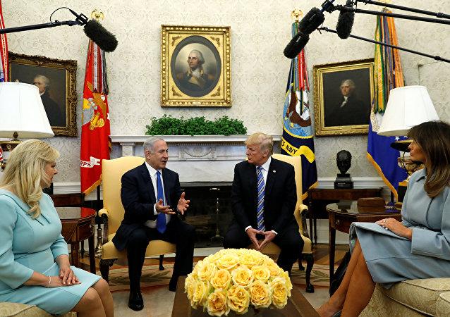 İsrail Başbakanı Benyamin Netanyahu- ABD Başkanı Donald Trump