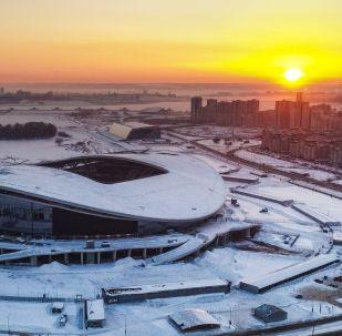 2018 Dünya Kupası maçlarına ev sahipliği yapacak Kazan Arena