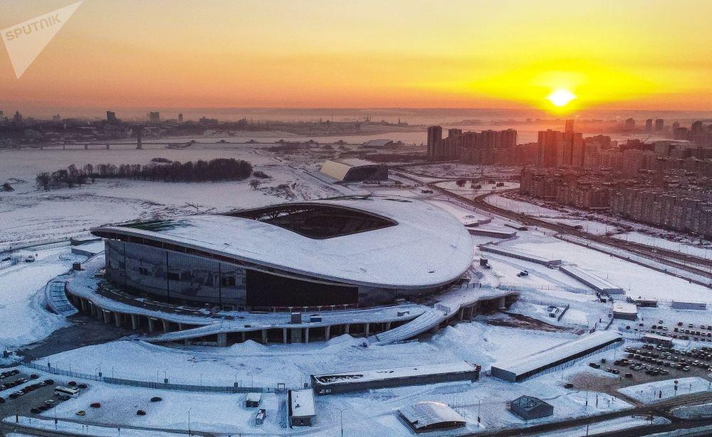 Kazan'daki yemek festivalinde, Dünya Kupası simgelerinden dev masa örtüsü örülecek 69