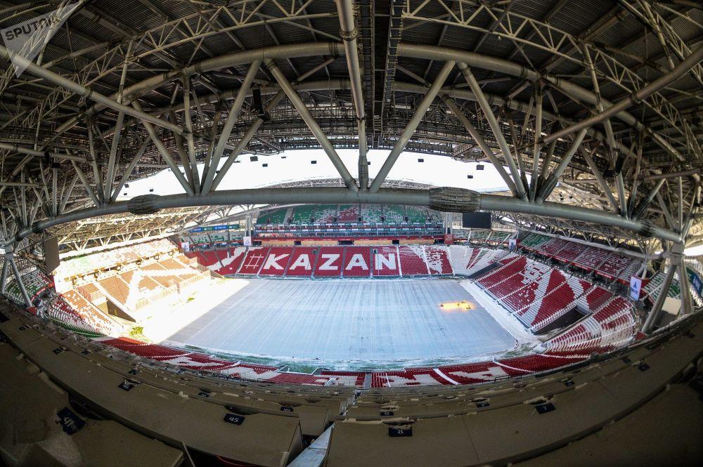 Kazan'daki yemek festivalinde, Dünya Kupası simgelerinden dev masa örtüsü örülecek 54