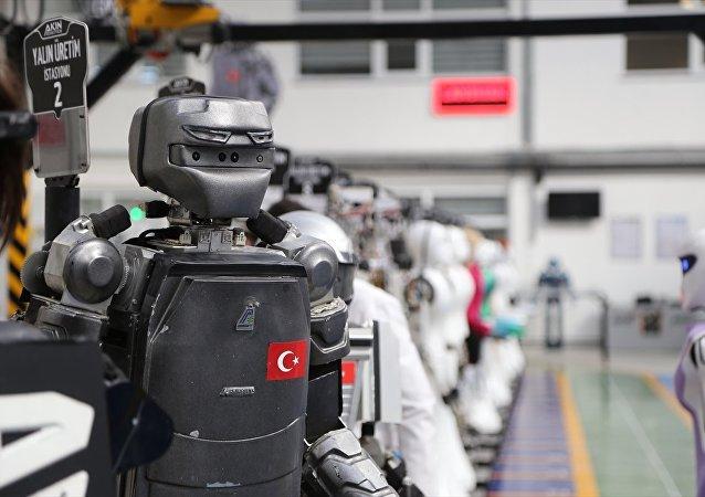 Akınsoft, 'insansı' robotlar