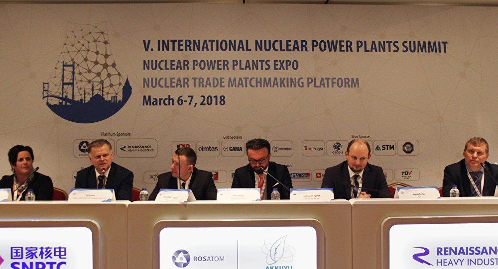 Uluslararası Nükleer Santraller Zirvesi ve Fuarı'nın birinci gününde gerçekleştirilen Rosatom oturumunda, Rosatom ve Akkuyu Nükleer A.Ş yetkilileri, temeli Nisan ayında atılacak olan Akkuyu Nükleer Santrali'ne ilişkin detayları aktardı.