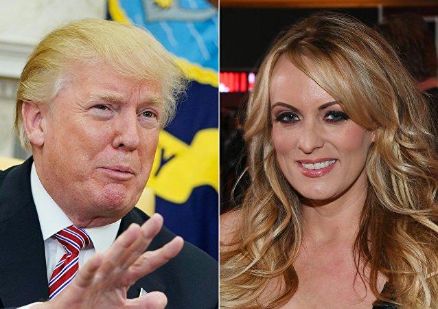 ABD'li porno film oyuncusu Stormy Daniels- ABD Başkanı Donald Trump