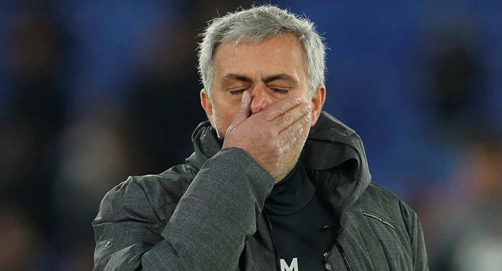 Manchester United menajeri Jose Mourinho, Premier Lig, Crystal Palace v Manchester United, Selhurst Park, Londra, 5 Mart 2018
