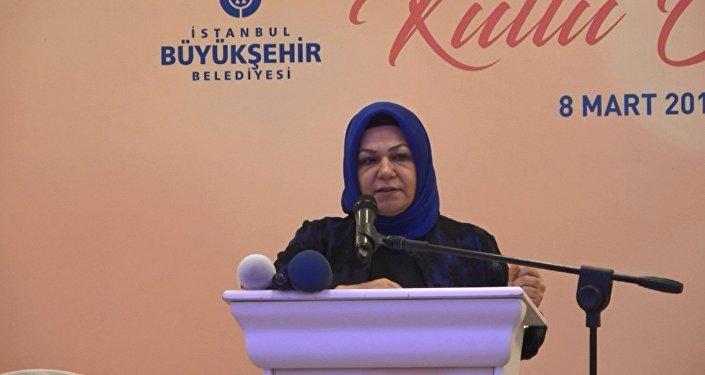 AK Parti İstanbul İl Kadın Kolları Başkanı Şeyma Döğücü