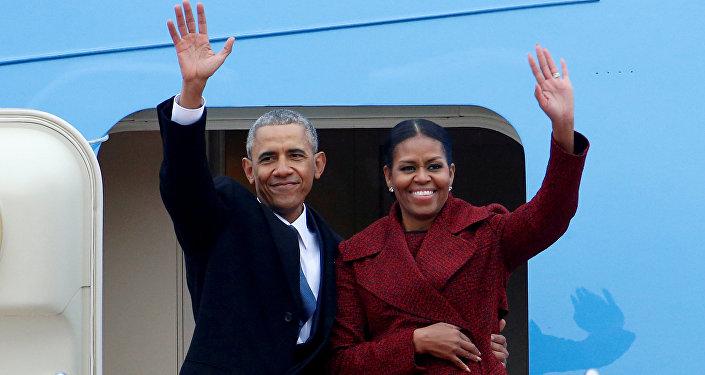 Eski ABD Başkanı Barack Obama-Eski First Lady Michelle Obama