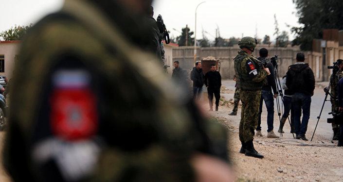 Doğu Guta'daki Rus askerleri