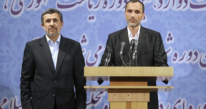 İran'ın eski Cumhurbaşkanı Mahmud Ahmedinejad'ın yardımcısı Hamid Bakayi