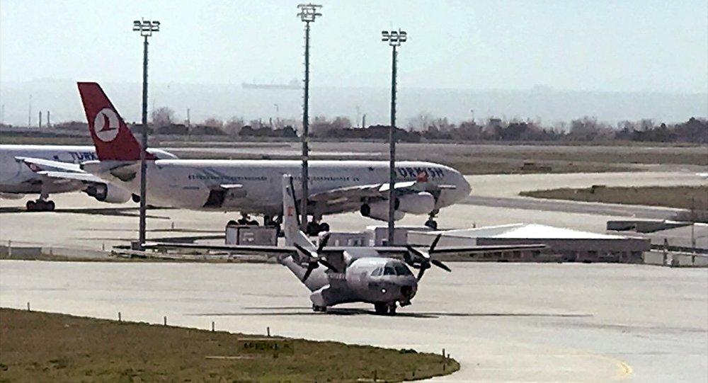 İran'da düşen Başaran Holding'e ait özel uçakta hayatını kaybeden 10 kişinin cenazesi, İstanbul'a getirildi.