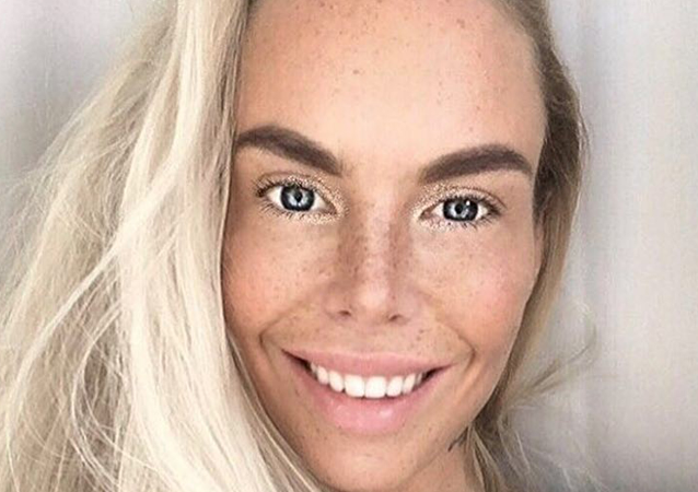 İsveçli model Ia Ostergren