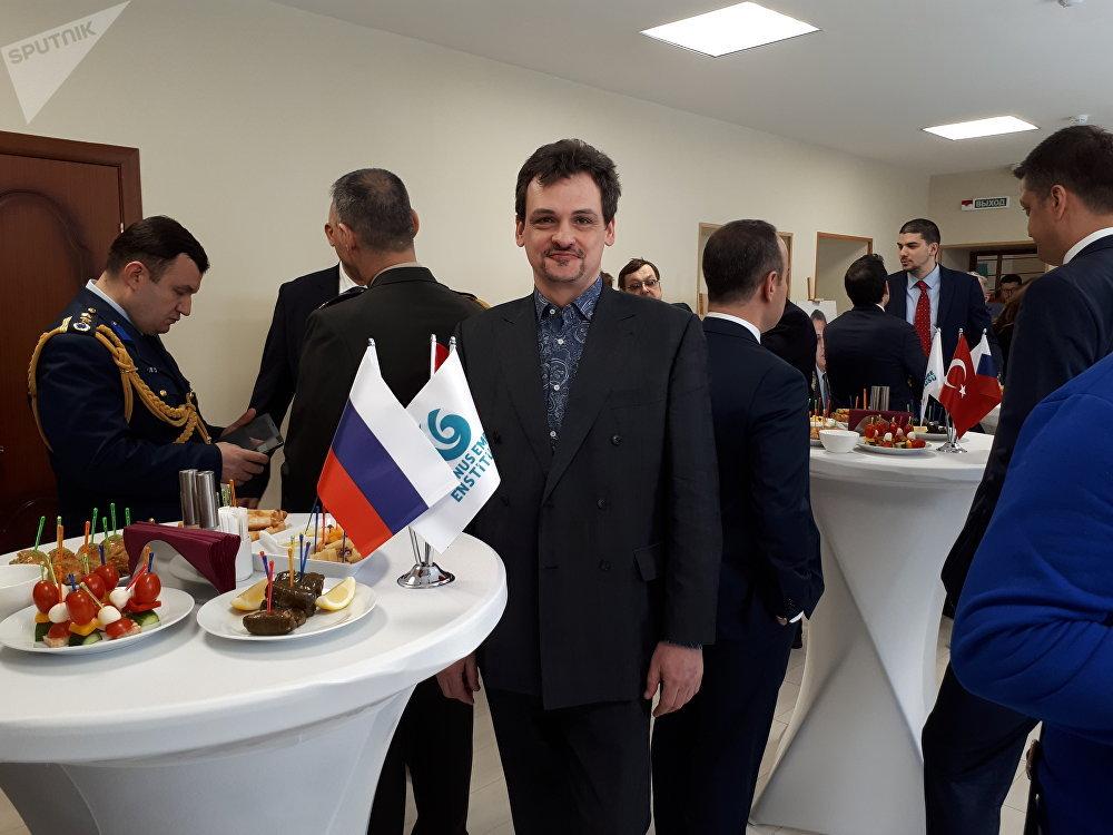 Rusya Kültürel ve Doğal Miras Enstitüsü Müdürü Yevgeniy Bahrevskiy